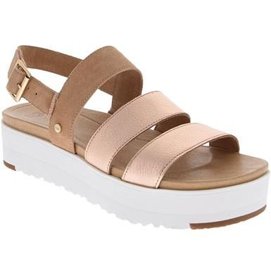 fdf85dc3fa8 UGG Braelynn Metallic Sandals - Womens in 2019 | Women's Sandals ...