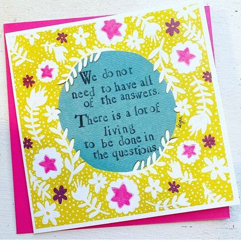 Curly Girl Thinking of you//Sympathy Greeting card I/'M NOT SURE WHO INVENTED New