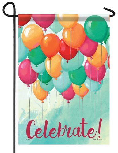 Celebrate Balloon Party Garden Flag Party Balloons Balloons Colourful Balloons