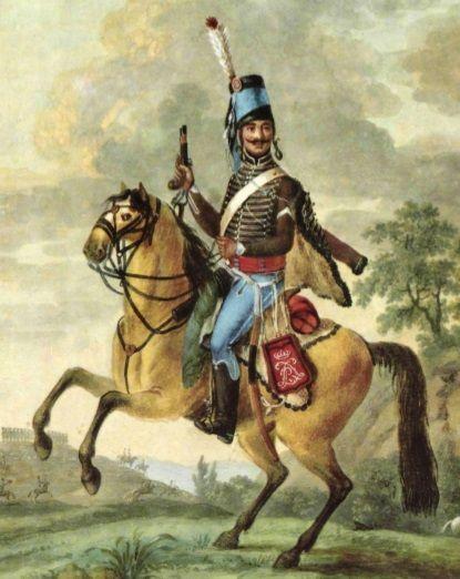 A L Epoque De Valmy Chamborant Portait Toujours La Sabretache Au Chiffre Du Roi La Republique Ne Sera Proclam Cocarde Tricolore Histoire Militaire Combattant