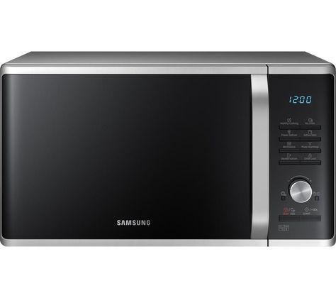 Samsung Ms28j5215as Solo Microwave Silver Living In London Countertop Microwave Oven Microwave Oven Kitchen Appliances