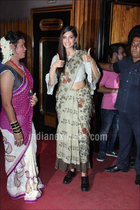 Actress Sonam Kapoor and international star Sir Ian McKellen inaugurated the Kashish Film Festival on May