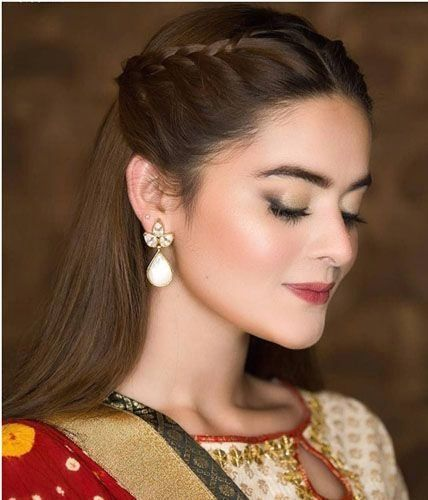 Hairstyle On Lehenga Open 1000 Front Hair Styles Easy Hairstyles For Long Hair Open Hairstyles