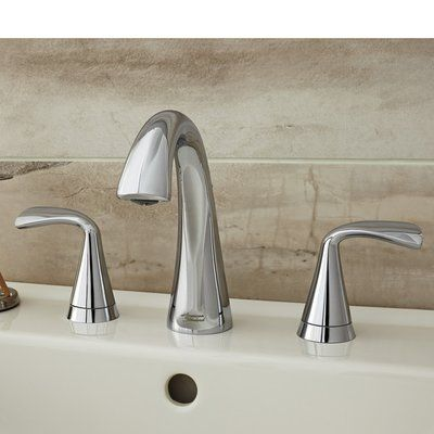 American Standard Fluent Widespread Bathroom Faucet With Drain