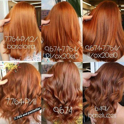 Red copper hair -  - #frisuren
