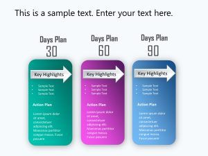 30 60 90 Day Plan Powerpoint Template 1 90 Day Plan 100 Day Plan Day Plan
