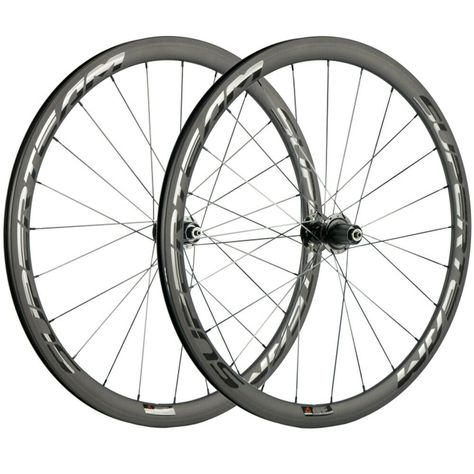 U Shape 38mm Clincher carbon bike cycling wheel rim 23mm 25mm width alloy side