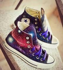 ropa de galaxia Buscar con Google | Zapatos converse