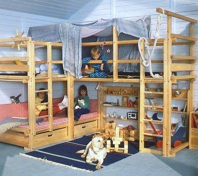 Bild 3 Von 7 Coole Kinderzimmer Abenteuerbett Betten Fur Kinder