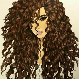 Thegaelle56 Thegaelle56 Photos Et Videos Instagram Curly Hair Drawing Black Girl Art Hair Art