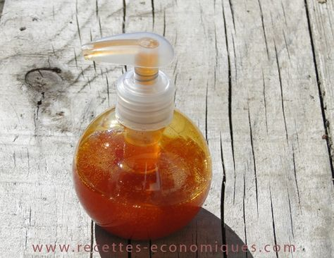 gel douche maison, diy, cosméto, huile essentielle