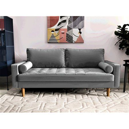 Mac Sofa Gray Walmart Com Couches For Small Spaces Cheap Couch Comfy Sofa