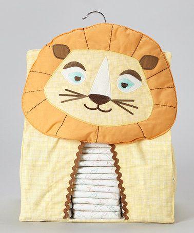 Yellow Lion Nursery Organizer by Lolli Living #zulily #zulilyfinds