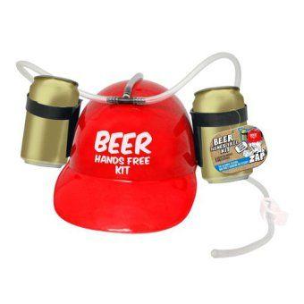 prix compétitif prix raisonnable large sélection Casquette bière, pour boire sans les mains ! | Cadeau ...