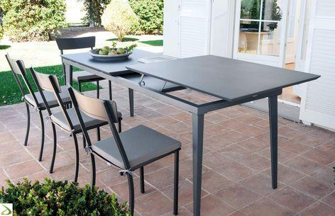 Tavolo Da Terrazzo Allungabile.Tavolo Mogan Nel 2020 Tavolo Giardino Allungabile Tavolo