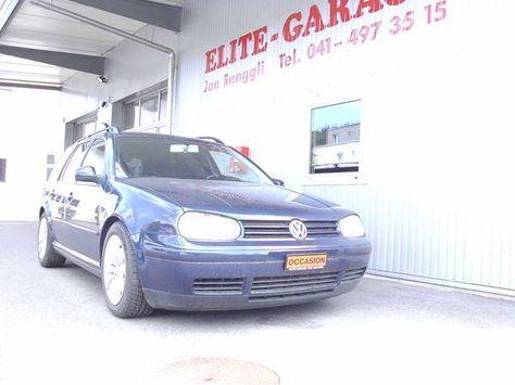 VW Golf Variant 1.9 TDI PD in Malters kaufen bei auto.ricardo.ch