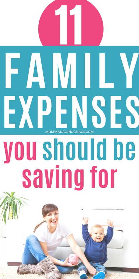 11 Expenses that Families Need to Save for in 2020