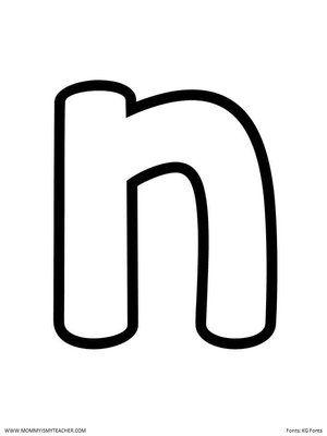 N Blank Jpg Alphabet Kindergarten Lettering Be My Teacher Letter n tracing worksheets preschool