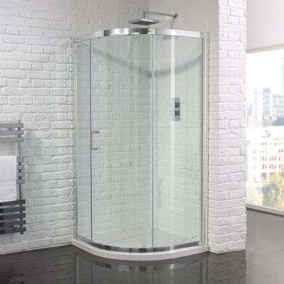 Aquadart Venturi 6 Single Door Quadrant Shower Enclosure In 2020 Quadrant Shower Shower Enclosure Quadrant Shower Enclosures