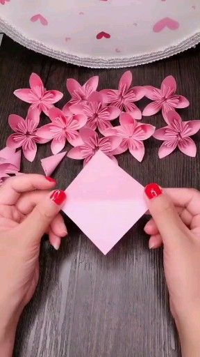 Origami flowers can be really beautiful. They can also be really intricate. They make great gifts for Valentine's Day, Mother's Day, Father's Day, birthdays...