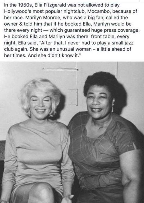Maryln Monroe was good people.