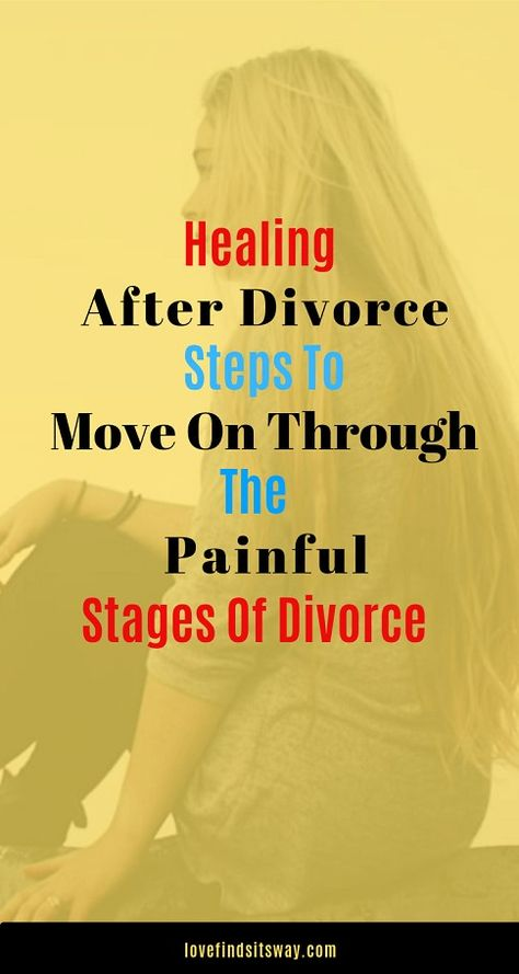 Sincw divorce is similar to suffering a death, the five stages of grief apply. Here they are with a few common conceptions relevant to being divorced and how you can heal after divorce. #healingafterdivorce #divorceinmarriage #sexlessmarriage #saveyourmarriage