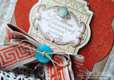 close up of Michele Kovack's card