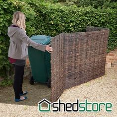 Image Result For Lattice To Cover Propane Tank Bin Store Garden Storage Buy Shed
