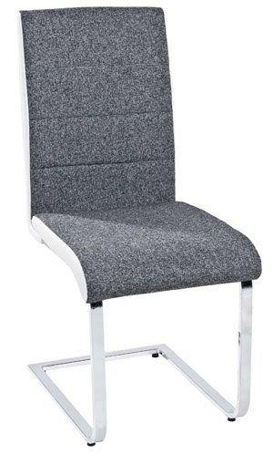 Wir Haben Fur Jeden Tisch Den Passenden Stuhl Esszimmerstuhl Lakolk Weiss Grau Weisser Stuhl Mit Grauem Sitzpolster Bequeme Sit In 2020 House Interior Chair Furniture