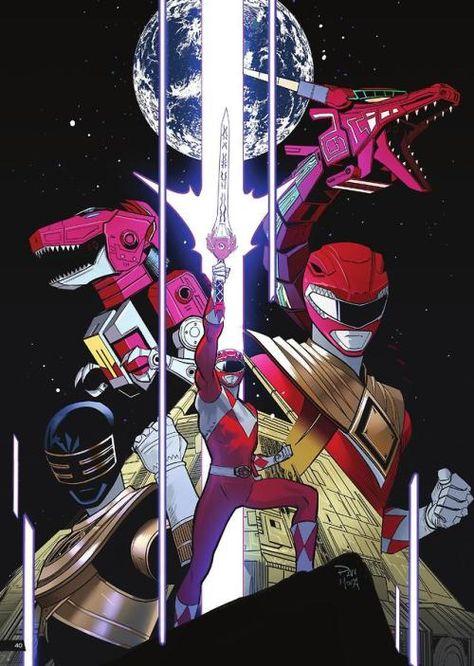 Jason By Dan Mora Dibujos Mighty Power Rangers Ilustraciones