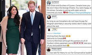 Canadian republicans claim Harry and Meghan represent 'disenchantment'