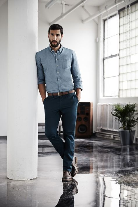 Reinvent the same pair of chinos in four different ways and look