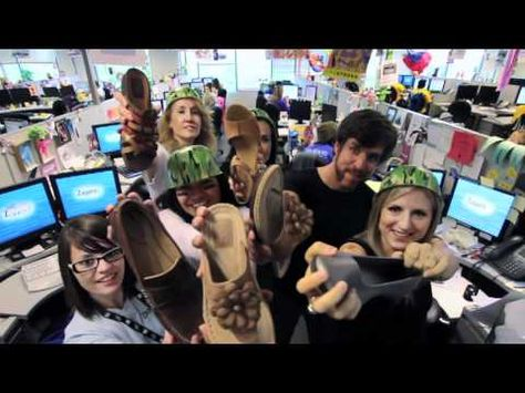 Zappos' careers site features a music video with an original song sung by employees.