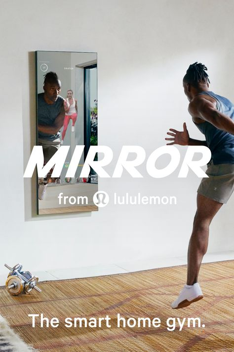 MIRROR is the nearly invisible home gym that brings weekly live classes and thousands of on-demand classes directly to you, at beginner to expert levels.