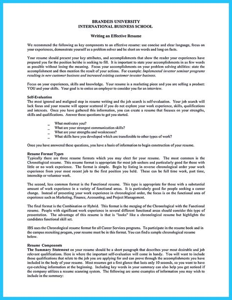 cool Construction Worker Resume Example to Get You Noticed - most common resume format