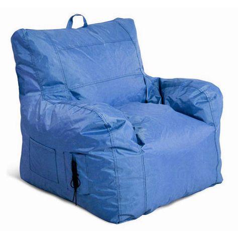 Strange Jordan Manufacturing Company Large Arm Chair Blue Bean Bag Lamtechconsult Wood Chair Design Ideas Lamtechconsultcom