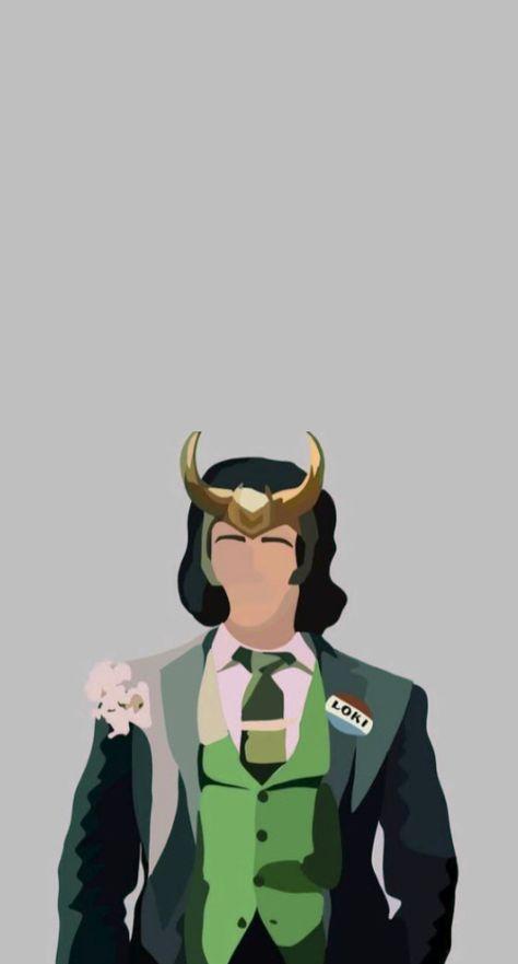 Loki art (not drawn by me!! Credits to a friend)