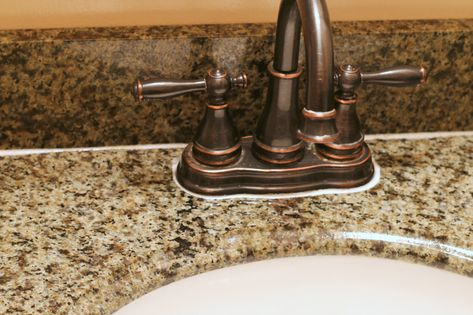 How To Clean Granite Countertops And Remove Hard Water Deposits