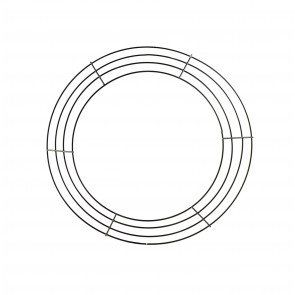 12 Inch Wire Wreath Form 4 Wire Black Wire Wreath Forms Wreath Forms Wire Wreath