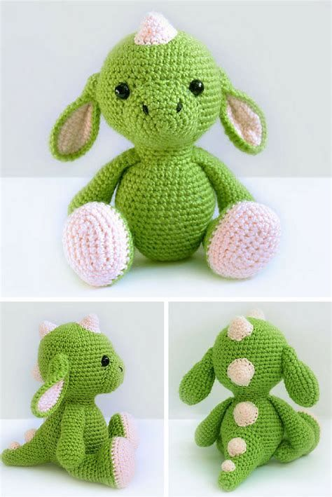 Image Result For Free Crochet Amigurumi Dragon Pattern Crochet