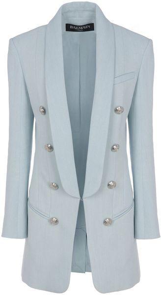 282a9a23 BALMAIN Blazer - Lyst   My style: to impress   Balmain blazer ...