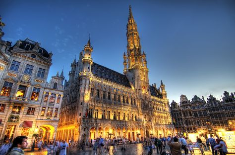 Grote Market Grand Place, Brussels, Belgium
