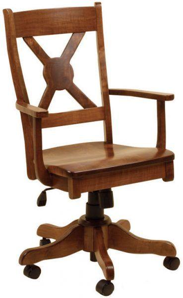 White River Desk Chair Amish Furniture Chair Desk Chair
