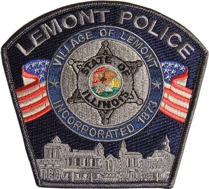 Us State Of Illinois City Of Lemont Police Department Patch Police Patches Patches Police