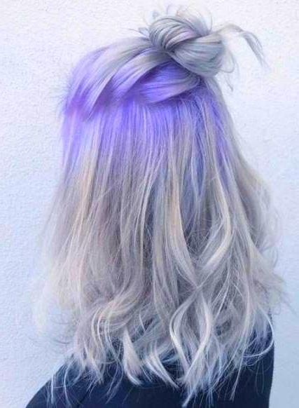 Dyed Hair Hair Color Unique Hair Styles Purple Hair