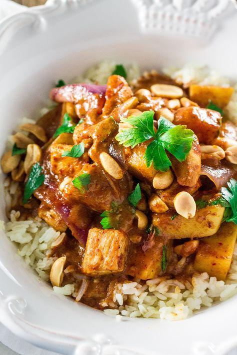 Massaman Curry Chicken   www.oliviascuisine.com   Make delicious Thai food at…