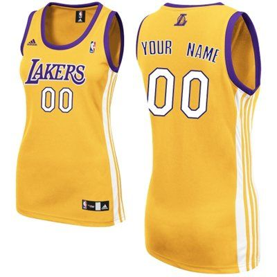 adidas LA Lakers Women's Custom Replica Home Jersey   Los angeles ...