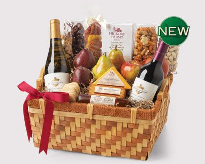 Shop Hickory Holiday Reserve and Gourmet Gift Baskets & Holiday Food Gift Towers from Hickory Farms