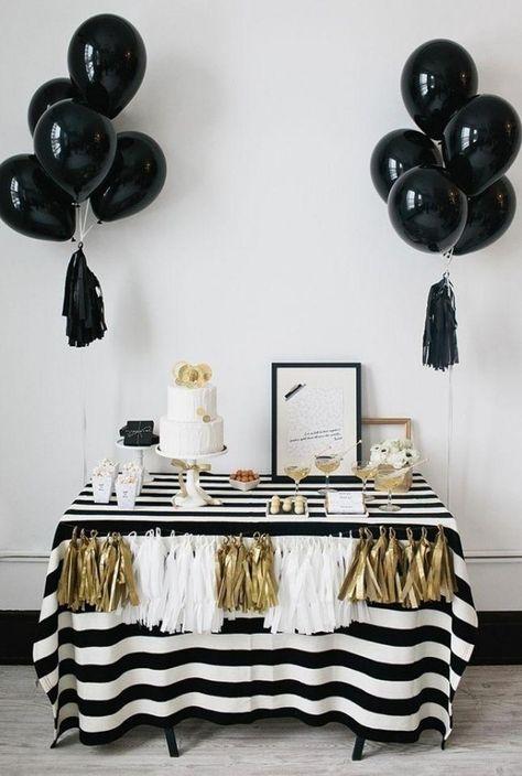 Deko Ideen Fur Eine Silverster Party Zu Hause 2019 Juuuli