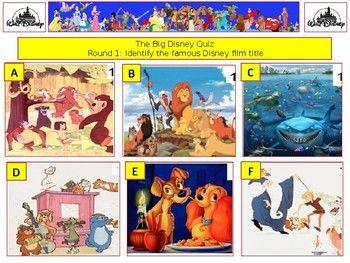 2017 - The Walt Disney Mega Quiz (What Disney Films) - 7